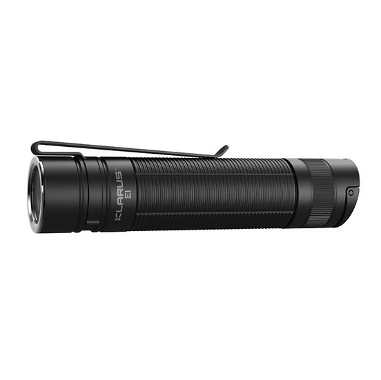 KLARUS E1 DEEP CARRY POCKET LIGHT