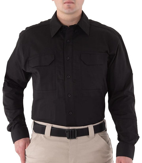 FT V2 TACTICAL LS SHIRT BLACK
