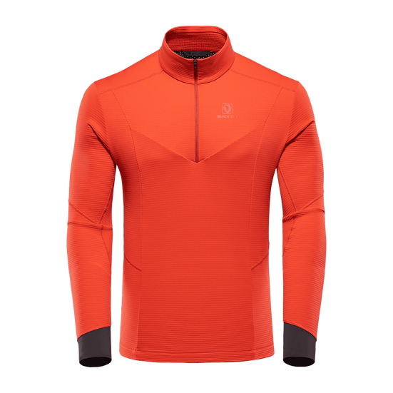 BLACKYAK CARORA SHIRT FIERY RED