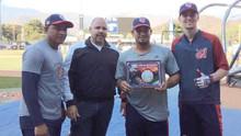 Fundación Beto Perdomo premia a los bateadores más destacados de la pelota criolla venezolana