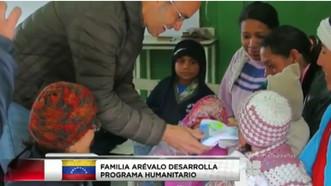 NEGOCIO FAMILIAR EN TAMPA REGALA ALEGRÍA A NIÑOS DE VENEZUELA