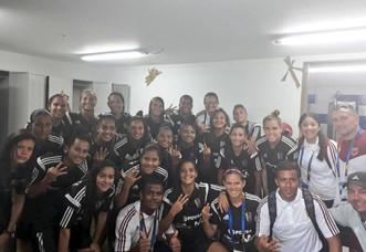 Vinotinto femenina debutó con triunfo en los Centroamericanos