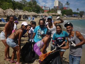 Fundación Vibra en Positivo concientiza sobre importancia del cuidado de las playas