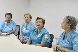 Acción Voluntaria de Hospitales celebran 44 años