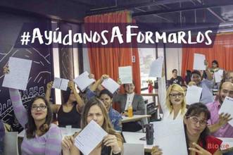 Bloxie School lanza la campaña #AyúdanosAFormarlos
