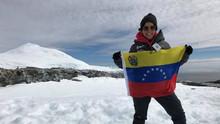 La experiencia de la científica venezolana que viajó embarazada a Antártida