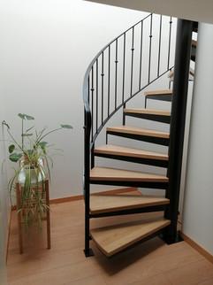 Escalier fer et bois auterive