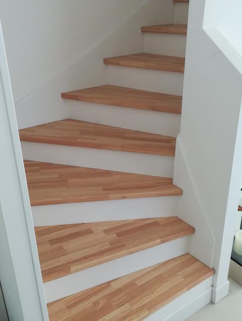 escalier beton bois auterive