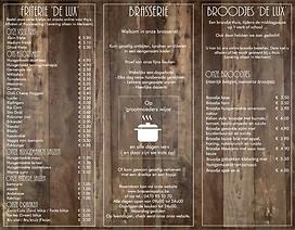 DL Folder Brasserie Palux binnenkant