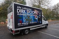 Ontwerp vrachtwagen bestickering
