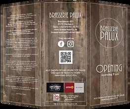 DL Folder Brasserie Palux buitenkant