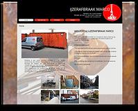 Website IJzerafbraak Marco