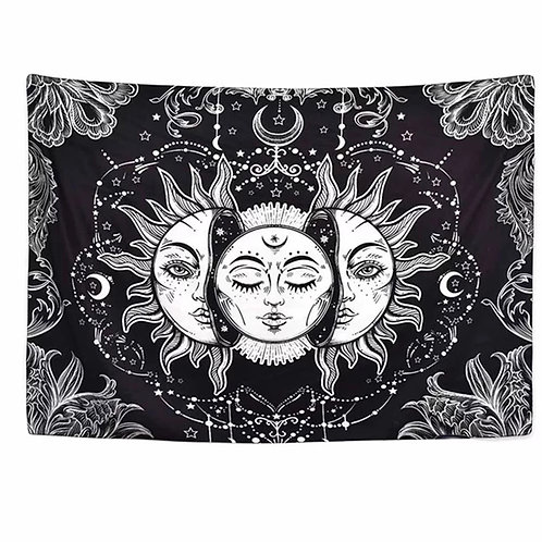 SUN AND MOON TAPESTRY BACKDROP