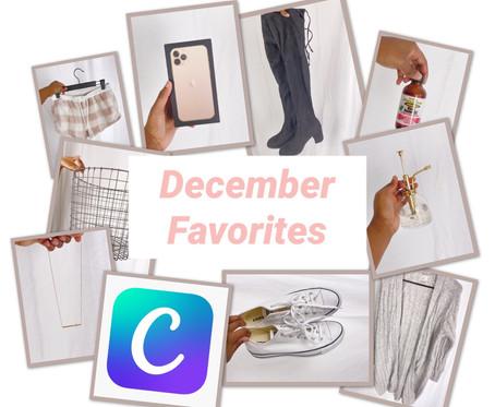 December Favorites   What I Got for Christmas + More