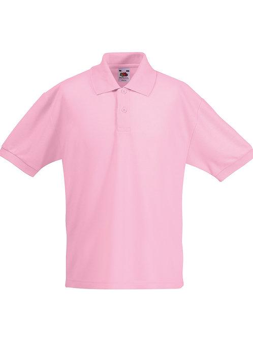 Plain Kids Unisex Polo Shirt School Team Group Club Event