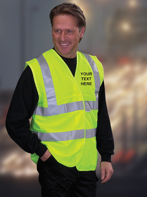 High-Vis-viz-waistcoat-vest-workwear-yellow-plain-or-personalised-EN471-class-2