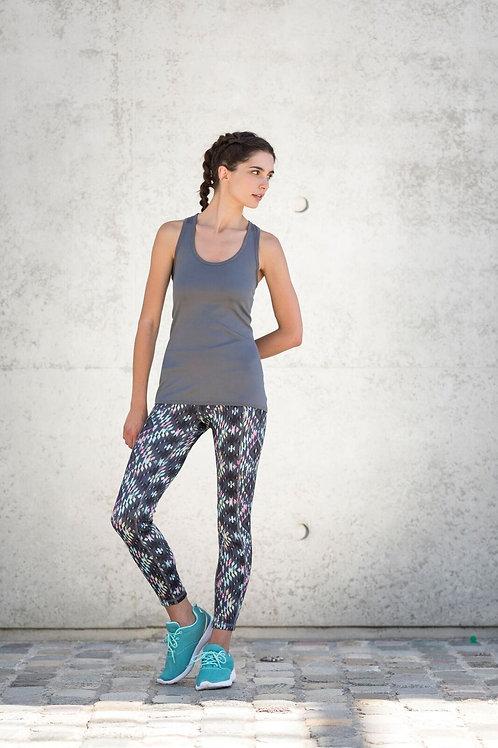 Women's Reversible Workout Dance keep fit gym Leggings