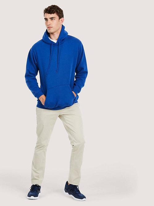 Uneek Pemium Over head hooded Sweatshirt plain or personalise with print