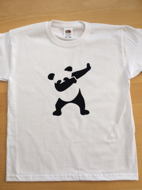 Children's T Shirt A panda doing the Dab