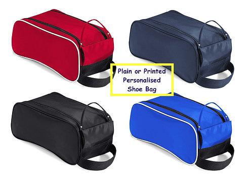 Quadra Teamwear Shoe Bag Plain or custom personalised with print