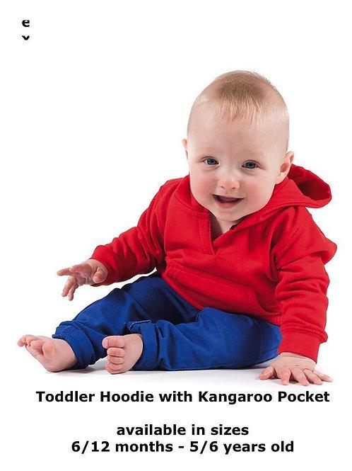 Plain or Printed Personalised Baby / Toddler / Kid / children hoodie hoody