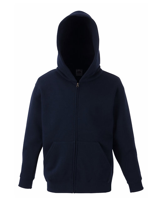 Adult Zipped Hoodie Jacket plain or personalise with print