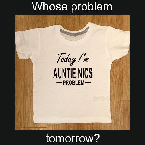 Today I'm ........... Problem Children's funny t shirt