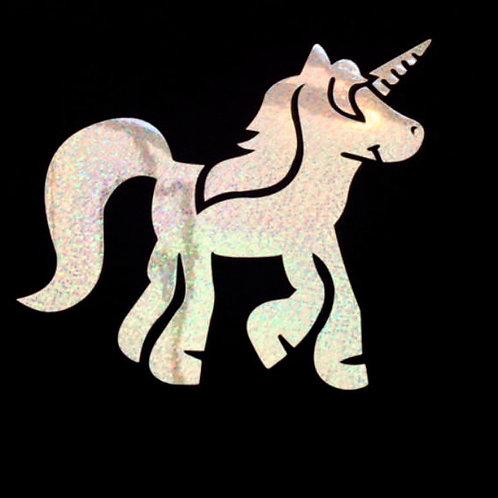 Children's Unicorn sparkle print black t shirt