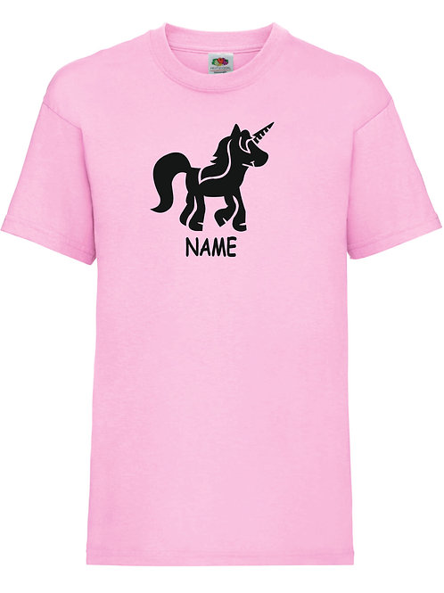 Name and image children's t shirt - perfect gift