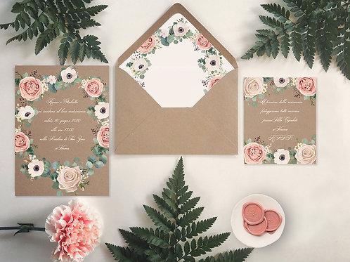 183 - Roses Frame