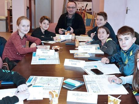 Conseil du mois - Le Conseil Municipal des jeunes d'Aumetz