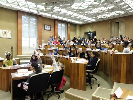 Conseil du mois - Le Conseil municipal des jeunes citoyens de Livry-Gargan