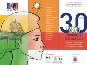 Participez à la 30e édition des Trophées Eco-Actions !