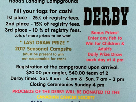 Flood's Fishing Derby For A Good Cause!
