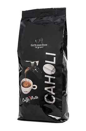קפה קלוי - קהולי שחור