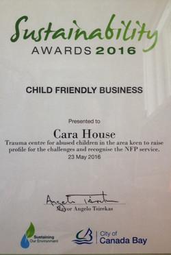 Canada Bay Sustainability Award