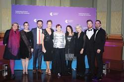 Telstra awards team pic