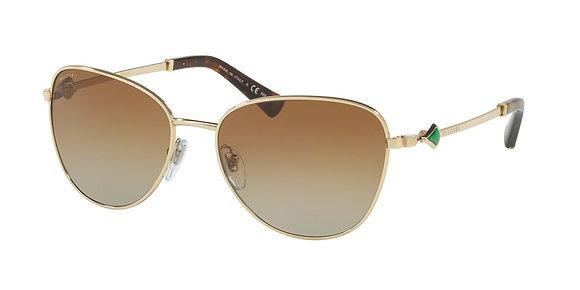 Bvlgari Women's Designer Sunglasses BV6097KB