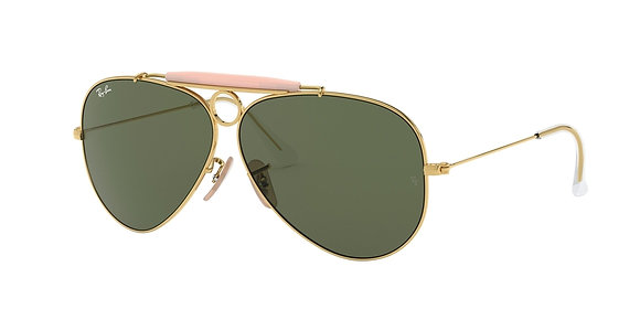 RayBan Men's Designer Sunglasses RB3138