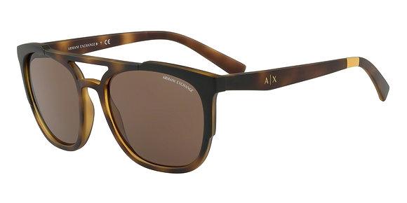 Armani Exchange Men's Designer Sunglasses AX4076SF