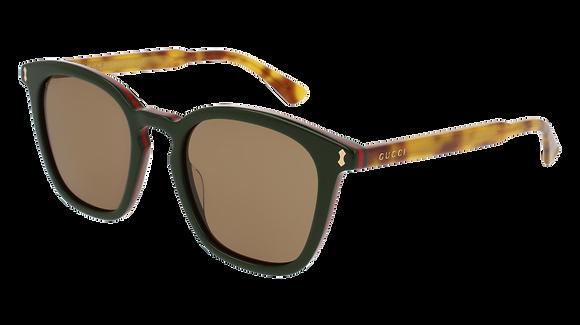 Gucci Men's Square Sunglasses GG0125S