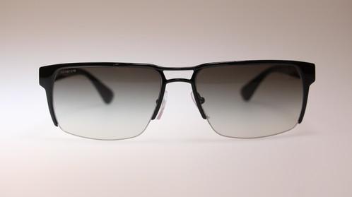 d4cb05b6b6 ... coupon code prada mens sunglasses pr52rs 7ax0a7 black logo made in  italy.