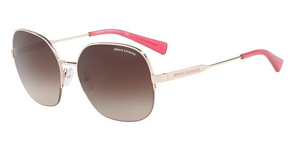 Armani Exchange Women's Designer Sunglasses AX2021S