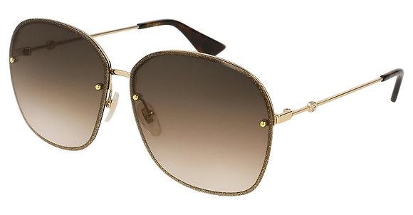Gucci Woman's Designer Sunglasses GG0228S