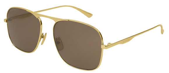 Gucci Men's Square Sunglasses GG0335S