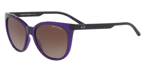 Armani Exchange Women's Designer Sunglasses AX4072SF