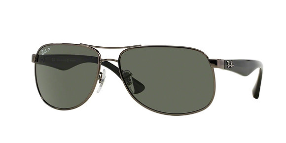 RayBan Men's Designer Sunglasses RB3502