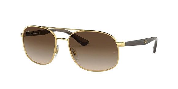 RayBan Men's Designer Sunglasses RB3593
