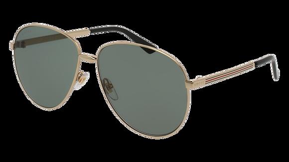 Gucci Unisex Aviator Sunglasses GG0138S