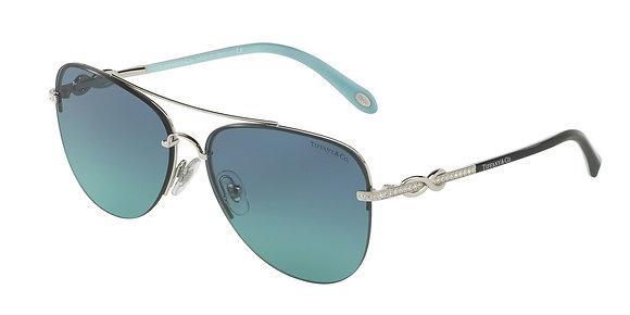 Tiffany Women's Designer Sunglasses TF3054B